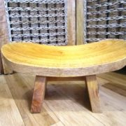 harmony meditation bench helps to maintain an erect spine and those with knee problems