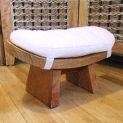 harmony meditation bench with kapok cushion; also called the Zazen bench