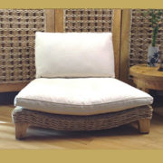 Seagrass Meditation Chair, Eco-friendly, Comfortable with Back Support