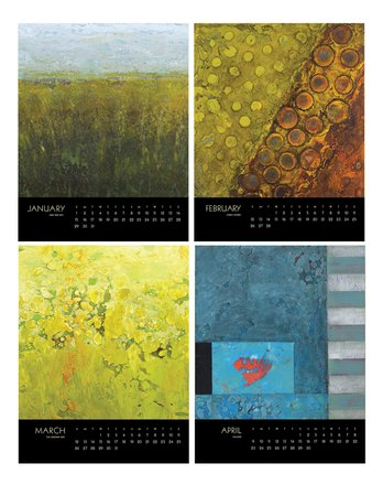 encaustic-calendar-january to april