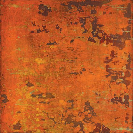 """Annie Darling Encaustic Print """"Fuel is the Crucial Element"""""""