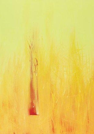 "Annie Darling Encaustic Print ""Stand Alone"""