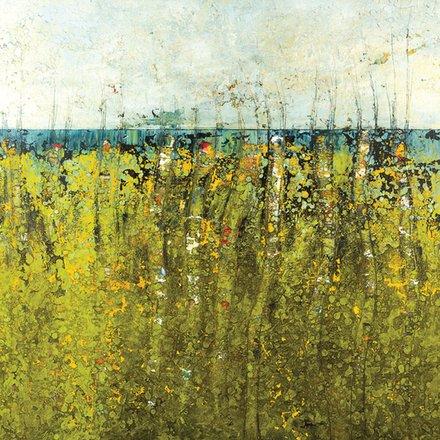 Annie Darling Encaustic Print Skyline