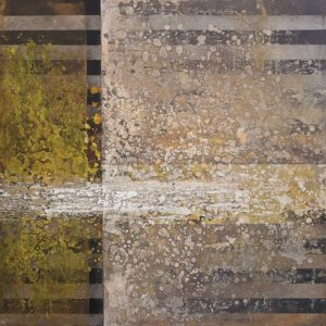 Annie Darling Encaustic Print intersection