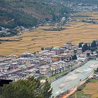 bhutan city