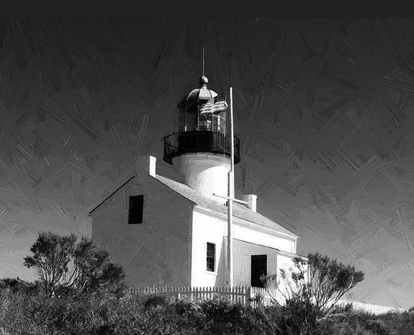 Old Point Loma by E. Lee