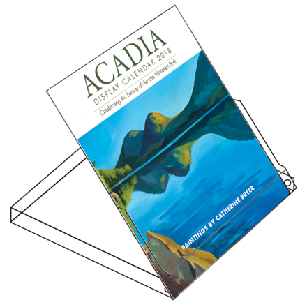 Acadia Display Calendar 2018 by catherine breer