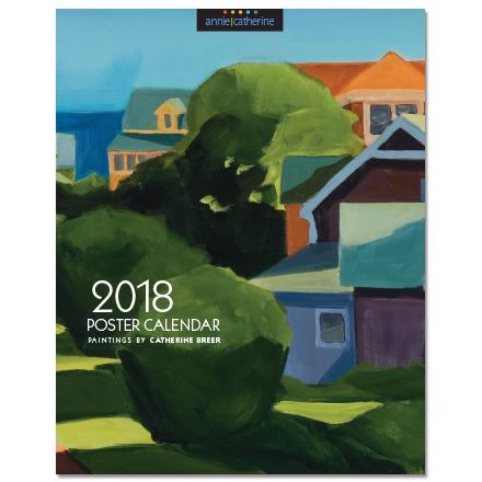 Catherine Breer Scenic Poster Calendar 2018