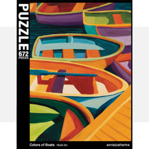 Colors of Boats Jigsaw Puzzle
