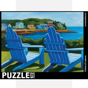 Colors of Leisure Jigsaw Puzzle