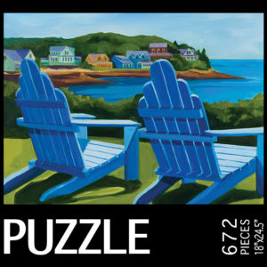 Catherine Breer Colors of Leisure Jigsaw Puzzle