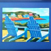 Colors of Leisure Puzzle Framed