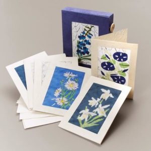 Batik Fair Trade Notecard Set from Nepal