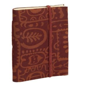 Block Print Journal fair-trade and handcrafted from India