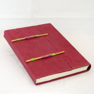 Lokta Paper Journal, Double Stick Closure, Medium