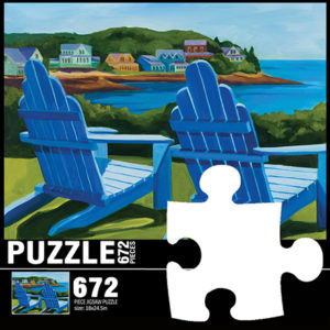 Clln: Coastal Art Jigsaw Puzzles
