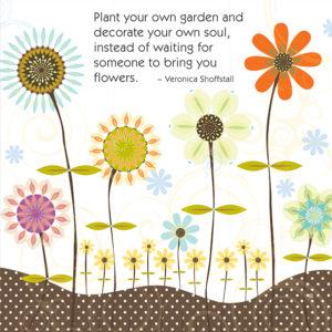 Little Moments Plant Your Own Garden Art Print