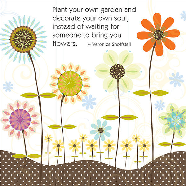 Little Moments Plant Your Own Garden Art Print