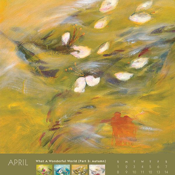 myIntrospection poster calendar 2018 april