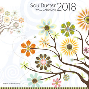 soul duster wall calendar 2018 cover