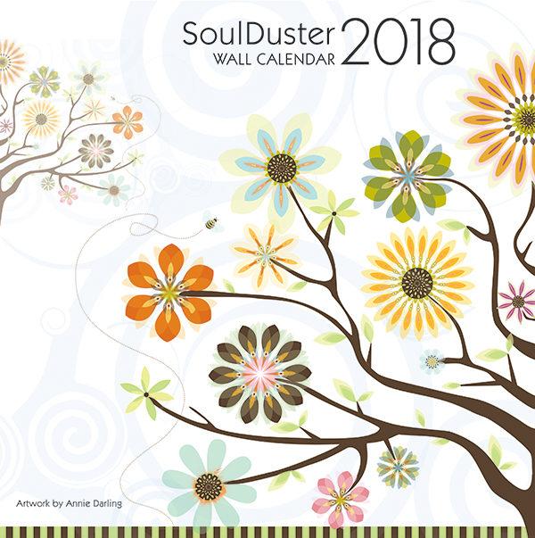 soul duster wall calendar 2018 cover