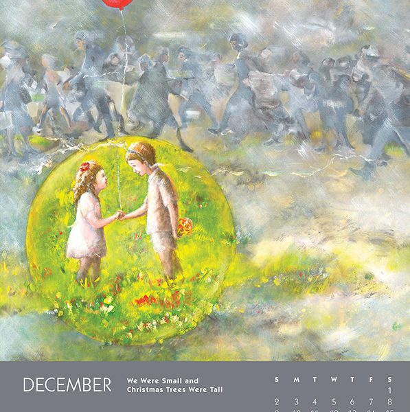 myIntrospection poster calendar 2018 december