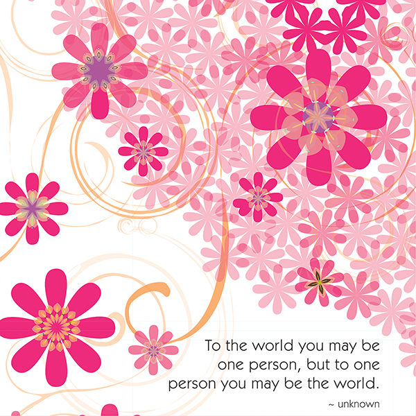 Little Moments You Are The World Art Print