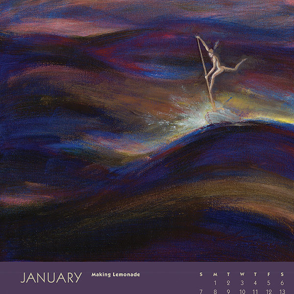 myIntrospection poster calendar 2018 january