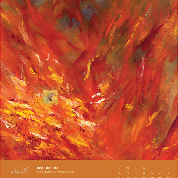 myIntrospection poster calendar 2018 july