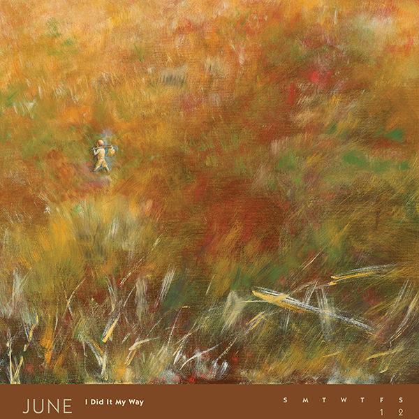 myIntrospection poster calendar 2018 june
