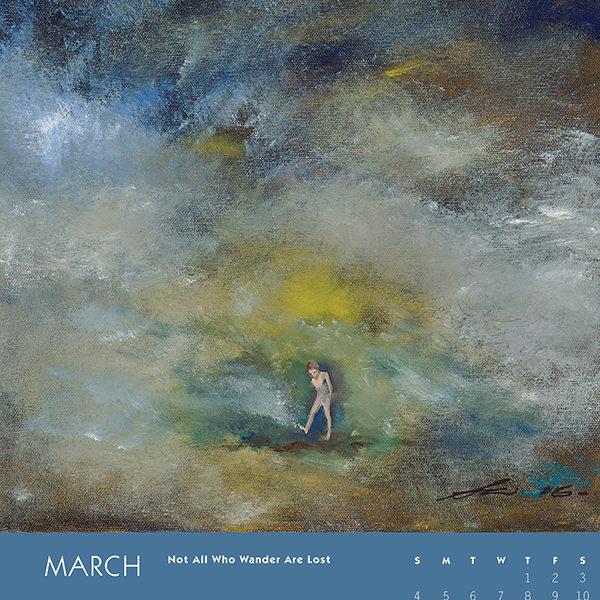 myIntrospection poster calendar 2018 march