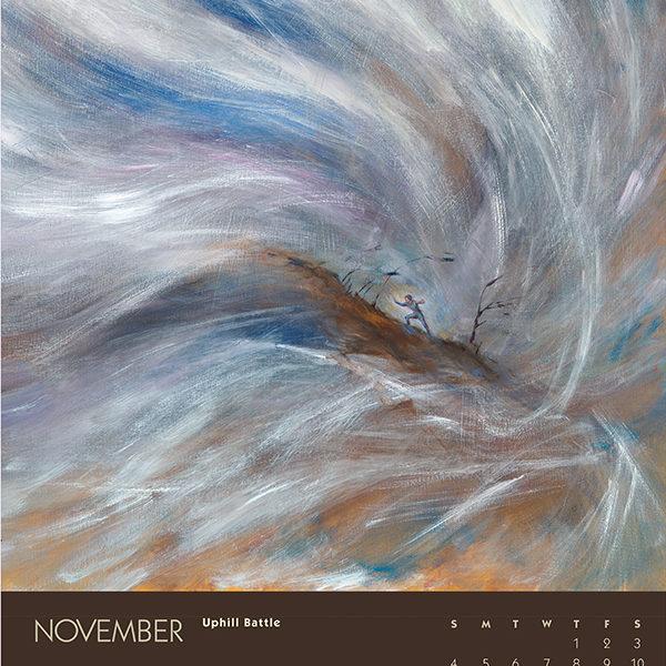 myIntrospection poster calendar 2018 november