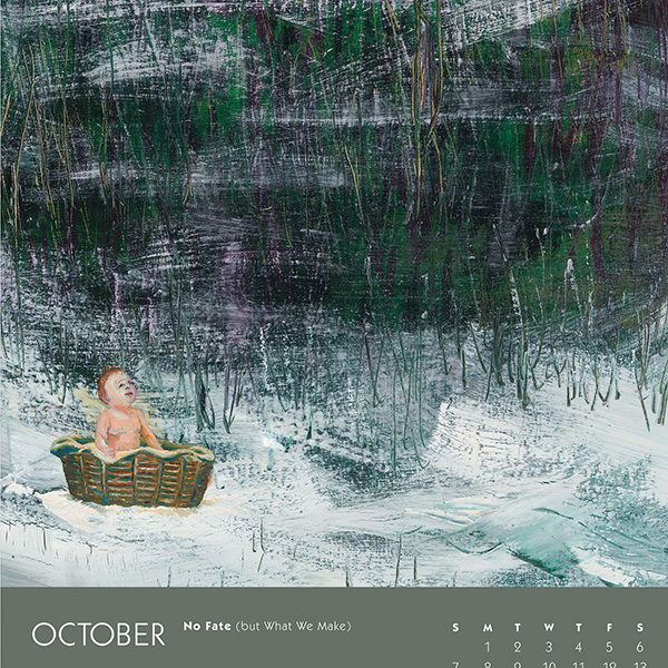 myIntrospection poster calendar 2018 october