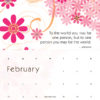soulduster wall calendar 2018 feb spread example