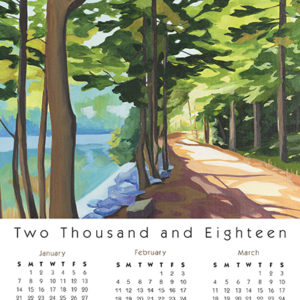 Calendar Card Carriage Path for Real Estate Agents