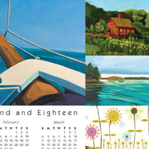 Calendar Cards Personalized