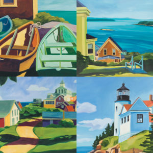 New England Charm Notecards. ♥♥♥