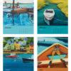 Catherine Breer The Love Of Boats Calendar 2019 Jan-Apr