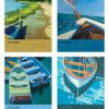 Catherine Breer The Love Of Boats Calendar 2019 Sep-Dec