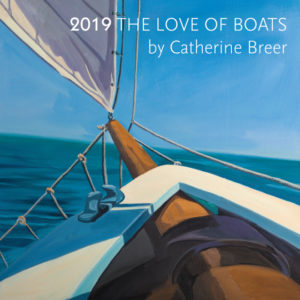 Catherine Breer The Love Of Boats Calendar 2019
