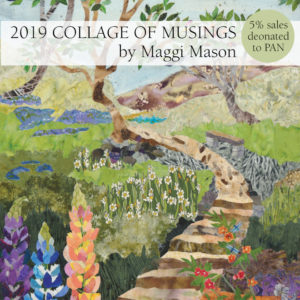 Collage of Musings 2019 Calendar by Maggi Mason