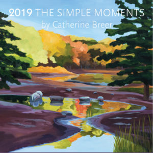 Catherine Breer The Simple Moments Calendar 2019