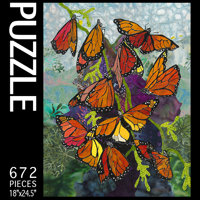 Colors of Monarchs Puzzle