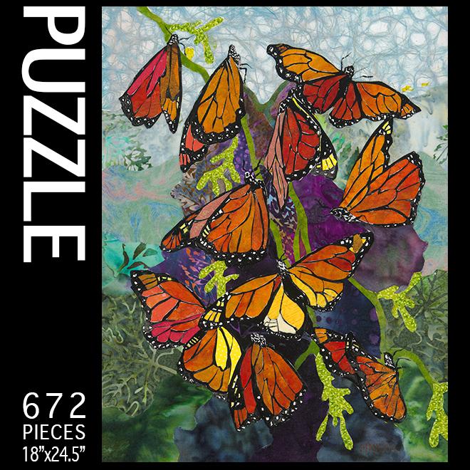 Maggi Mason Colors of Monarchs Puzzle