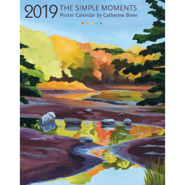 Catherine Breer The Simple Moments Poster Calendar 2019