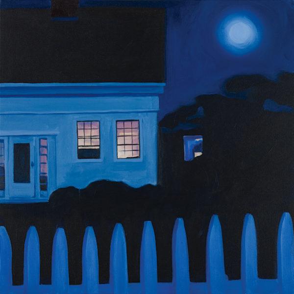 Catherine Breer Moonrise Art Print