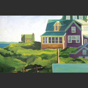 Catherine Breer Monhegan Morning Art Print