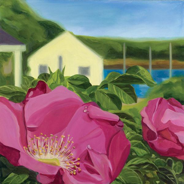 Catherine Breer Rosa Rugosa Art Print