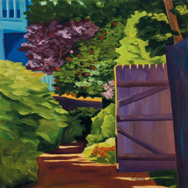 Catherine Breer Provincetown Alley Art Print