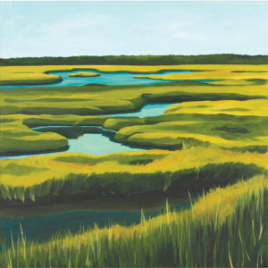 Catherine Breer Spurwink Marsh Art Print